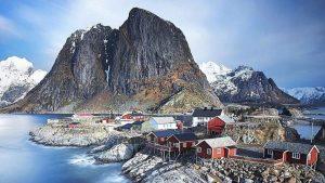 Amazing View Of Lofoten, Norway