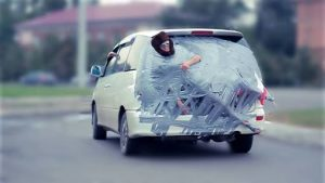Funniest and Dumbest Things People Do With Their Cars