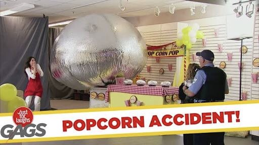 Shocking Popcorn Accident