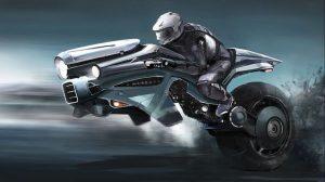 Futuristic Ride