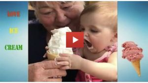 Babies Eating Ice Cream For The First Time
