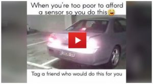 Funny Parking Sensor