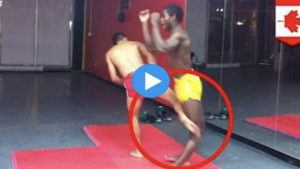 Muay Thai Instructor Dislocates Opponent's Leg