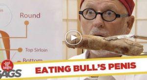 Customers Eat Bull's Dong Prank