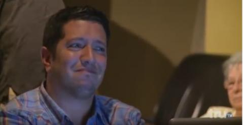 Sal from impractical jokers watches porn in a busy coffee shop....sal's face says it all!!